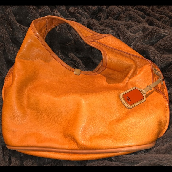 8ed97ce54e4 UGG leather hobo bag